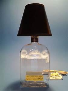 Woodford Reserve® Liquor Bottle Table Lamp W/ Black Shade ...
