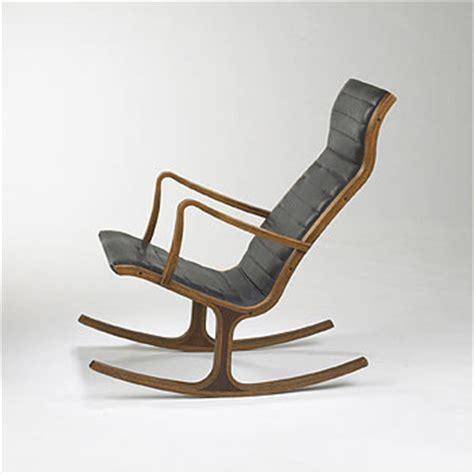 Tendo Mokko  Japan  Midcentury Modern Rocking Chair