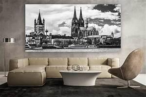Künstler Aus Köln : schwarz weiss k ln panorama bild moderne kunst aus der domstadt ~ Markanthonyermac.com Haus und Dekorationen