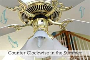 ceiling fan clockwise or counterclockwise in winter