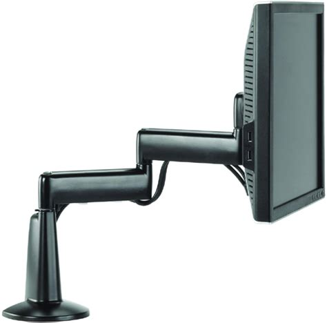 chief kcd110b dual arm desk mount single monitor