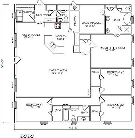 4 bedroom barndominium plans studio design gallery best design