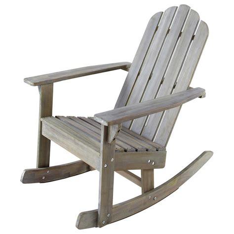 fauteuil 224 bascule de jardin enfant bois gris 233 ontario maisons du monde