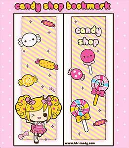 Candy Shop Bookmark Design by A-Little-Kitty | Crafts ...