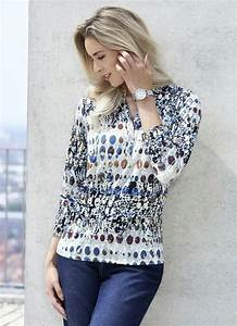 Grau Blau Farbe : shirt mit zierknopfleiste shirts bader ~ Markanthonyermac.com Haus und Dekorationen