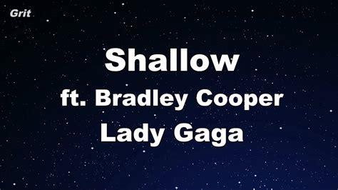 Lady Gaga, Bradley Cooper Karaoke 【with Guide