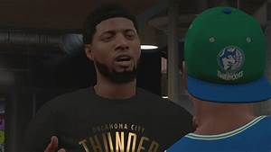 NBA 2K18 My Career - Paul George Shows Up! PS4 Pro 4K ...
