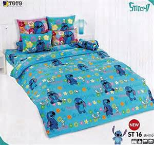 yes lilo and stitch bed fitted sheet set st16 3 pieces set 1 bed