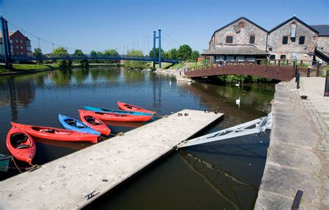 Canoes Devon by Exeter Quay Canoes And Bridges Devon Guide