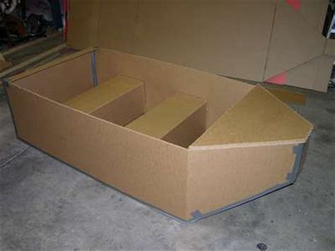 How To Make A Cardboard Boat With Only Duct Tape by Make Carboard Boxes On Shopbot Page 2 Let S Talk Shopbot