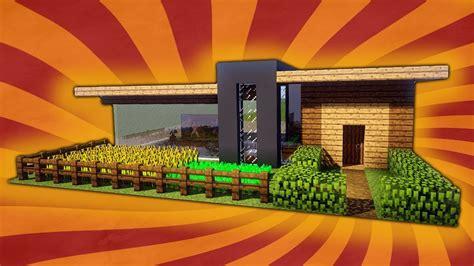 Kleines Und Einfaches Modernes Haus In Minecraft