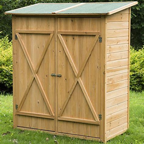 meuble armoire abri de jardin rangement outils exterieur en bois massif neuf 54 jardin boutique