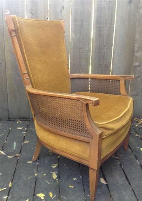 vintage mid century occasional chair by stateville chair