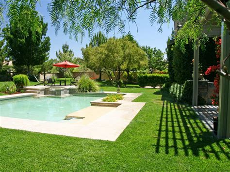 Garden Pool : Pool Deck Designs And Options
