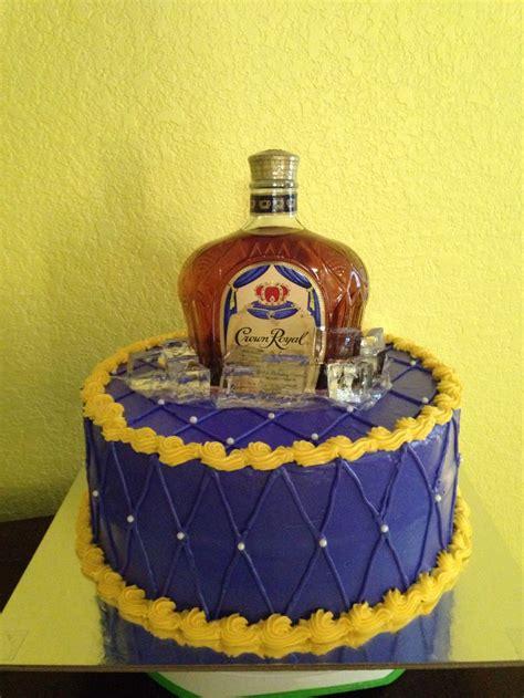 crown royal cake cake ideas
