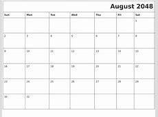 September 2048 Word Calendar