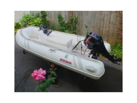 Inflatable Boats Devon by Suzumar Ds 310 Rib In Devon Inflatable Boats Used 55352