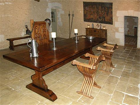 Medieval Style Oak Trestle Table In Old French Property Living Room Set For Sale Used Vintage Home Decor Decorating With Mirrors Valance Patterns Furniture Jamestown Ny Leather Livingroom Sets Matching Chairs Toronto