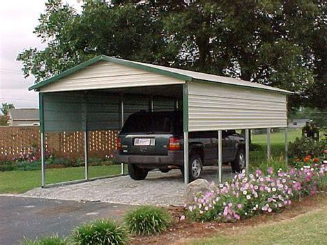 Single Carports  One Car Carports  1car Carports