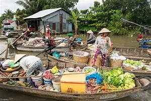 Vietnam - Chau Doc and Can Thò, the north of the Mekong ...