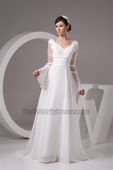 Chapel Train Long Sleeve Wedding Dress Bridal Gown. Off White Wedding Dresses Plus Size. Cheap Wedding Dresses San Jose Ca. Simple Modern Wedding Dress Designers. Vera Wang Wedding Dresses Glasgow. Dark Corset Wedding Dresses. Vintage Style Knee Length Wedding Dresses. Unique Antique Wedding Dresses. Elegant Wedding Guest Dresses Australia
