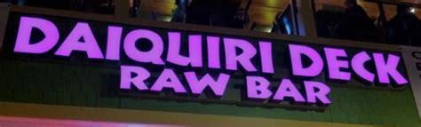 daiquiri deck bar bar restaurant st armands