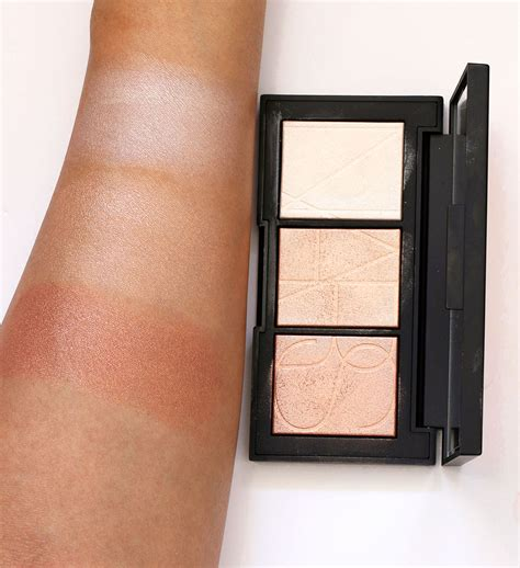 Nars Banc De Sable Palette Review Just The Highlights