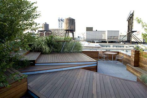 Roof Top Terrace : Unfolding Rooftop Terrace In