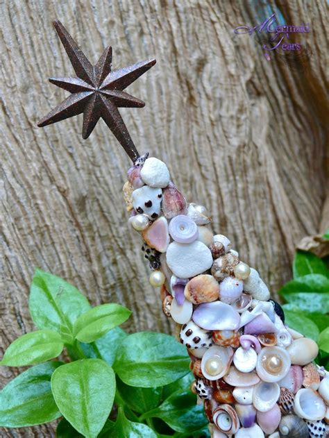 Seashell Christmas Tree Pinterest by Seashell Christmas Tree From Hawaii Mele Kalikimaka