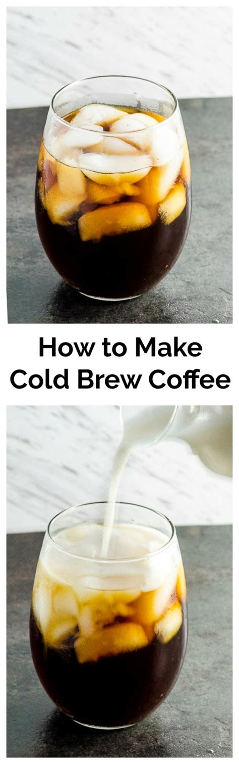 How to Make Cold Brew Coffee   May I Have That Recipe