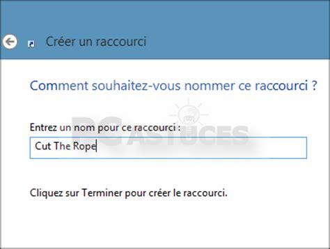 pc astuces cr 233 er un raccourci sur le bureau pour une application windows 8