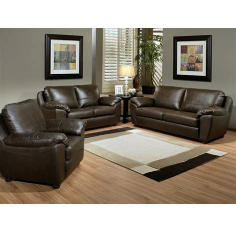 emejing brown leather living room ideas pictures