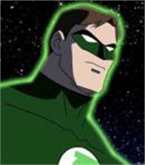 voice of green lantern hal justice the voice actors