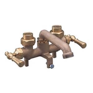 wolverine brass 2 handle laundry faucet brass cl