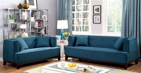sofia teal living room set from furniture of america cm6761tl sf pk coleman furniture