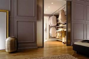 Offener Schrank Vorhang : begehbarer kleiderschrank planen schranksysteme und regalsysteme living at home ~ Markanthonyermac.com Haus und Dekorationen