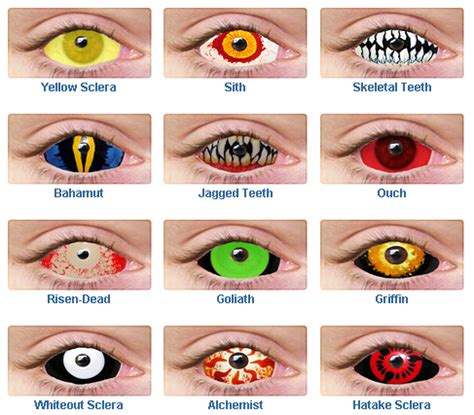 Prescription Contacts Halloween Uk by Ghost Lounge Creepy Halloween Contact Lenses And Teeth To