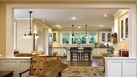 Best Floor For Kitchen And Family Room by Small Kitchen Living Room Open Floor Plan Wood Floors