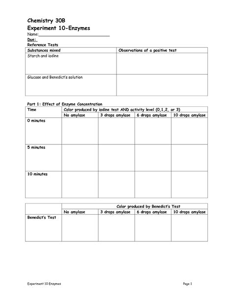12 Best Images Of Enzyme Graph Worksheet  Enzymes Temperature Worksheet, Linear Graphs