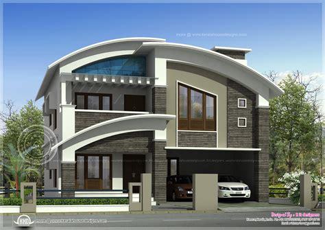 R It Designers (home Design In Kannur) : 2568 Square Feet Modern Villa Exterior