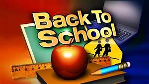 Back-to-school dates, information
