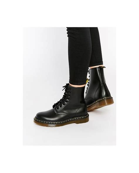 dr martens modern classics smooth 1460 8 eye boots in black lyst