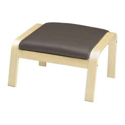 po 196 ng footstool cushion glose brown ikea