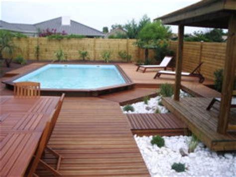 comment installer et am 233 nager une piscine semi enterr 233 e en bois piscines et