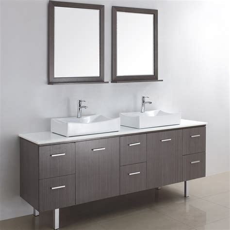 Awesome Modern Bathroom Vanity For Amazing Interior Model