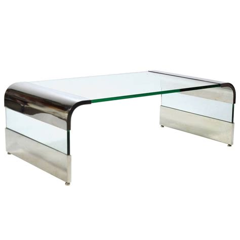 30 Collection Of Chrome And Glass Coffee Tables