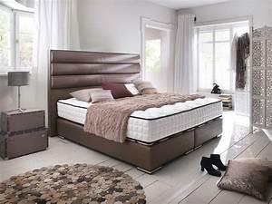 Boxspring Bett Landhausstil : boxspringbett sheffield in vielen farben und stoffarten lieferbar ~ Markanthonyermac.com Haus und Dekorationen