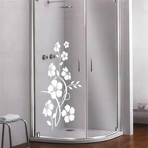 Verspiegeltes Glas Fenster : glas dekor aufkleber fensterbild duschkabine dusche fenster spiegel blume 18 ebay ~ Markanthonyermac.com Haus und Dekorationen