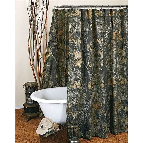 camo bathroom decor mossy oak new up camo shower curtain camo trading
