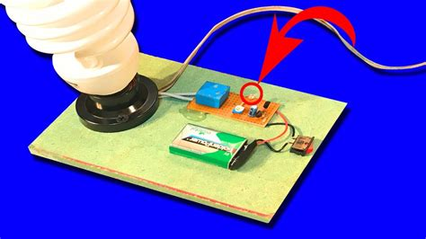 How To Make Automatic Night Light Circuit Ldr Youtube